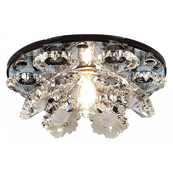 Встраиваемый светильник Crystal K440 BK Ambrella AMBR_K440_BK