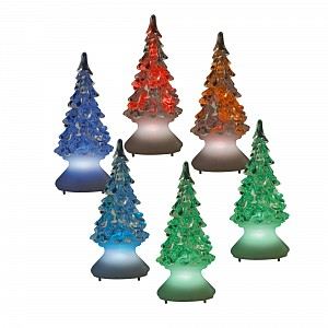 Ель световая [10 см] ULD ULD-F620 RGB XMAS TREE SET12