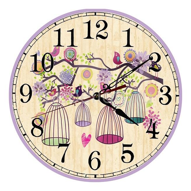 Настенные часы Акита (30 см) Клетки C1186 цена и фото