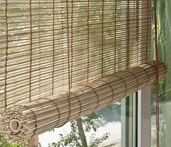 Штора рулонная (70х160 см) Бамбук