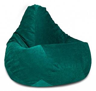 Кресло-мешок Изумрудный Микровельвет L