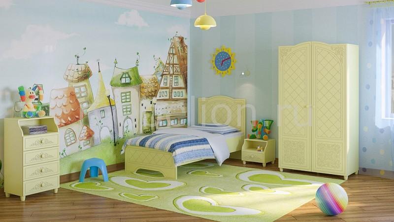 Комод детский Компасс-мебель KOM_Sonya_childrens_room_3 от Mebelion.ru