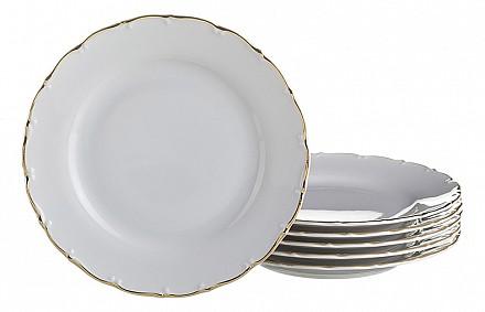 Набор из 6 тарелок плоских Офелия 662 655-101