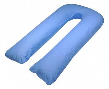 Подушка для беременных (80x140x35 см) Горошек