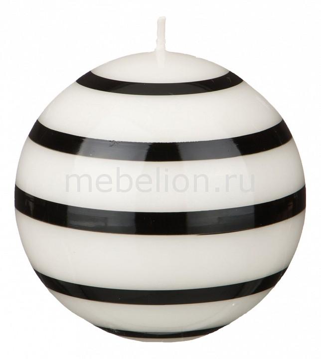 Свеча декоративная АРТИ-М (10 см) Black & white 348-564