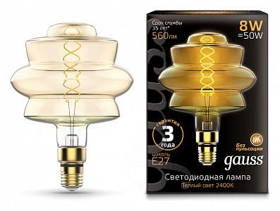 Лампа светодиодная LOFT Led Vintage Filament Flexible E27 185-265В 8Вт 2400K 161802008