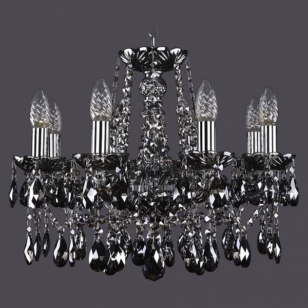 Подвесная люстра 1413/8/165/NI/M781 Bohemia Ivele Crystal  (BI_1413_8_165_NI_M781), Чехия