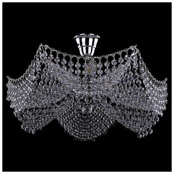 Люстра на штанге 7708/6/Ni Bohemia Ivele Crystal  (BI_7708_6_Ni), Чехия