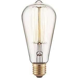Лампа накаливания ST64 60W E27 220В 60Вт 3300K a034964