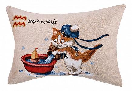 Подушка декоративная (63x45 см) Котята водолей 850-901-70
