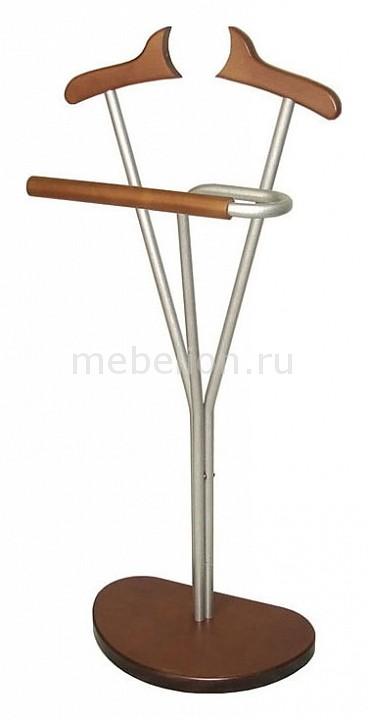 Вешалка для костюма Декарт Д-8М металлик/средне-коричневый