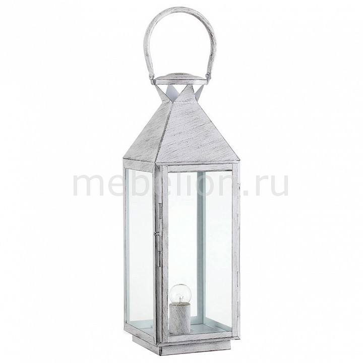 Настольная лампа декоративная MERMAID TL1 BIG BIANCO ANTICO