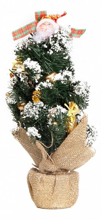 Ели новогодние Сибим Ель новогодняя (45 см) с украшениями ИТ1 45 (золото) ель новогодняя сказка 973322 90 см с шишками