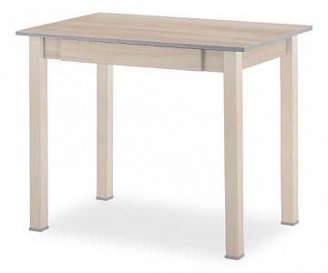 Стол обеденный прямая ножка с ящиком