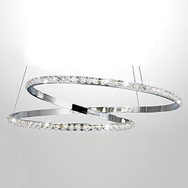 Купить со скидкой Подвесной светильник Asteria 90062/2 хром