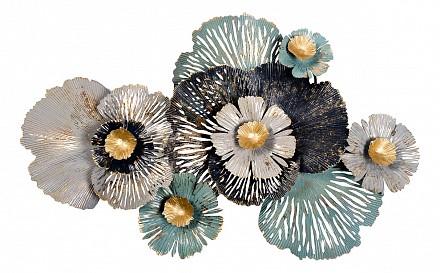 Фигура настенная (97.8x61.6 см) Цветы 37SM-0930