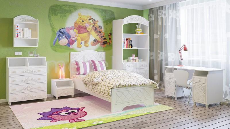 Комод детский Компасс-мебель KOM_Sonya_premium_childrens_room_6 от Mebelion.ru
