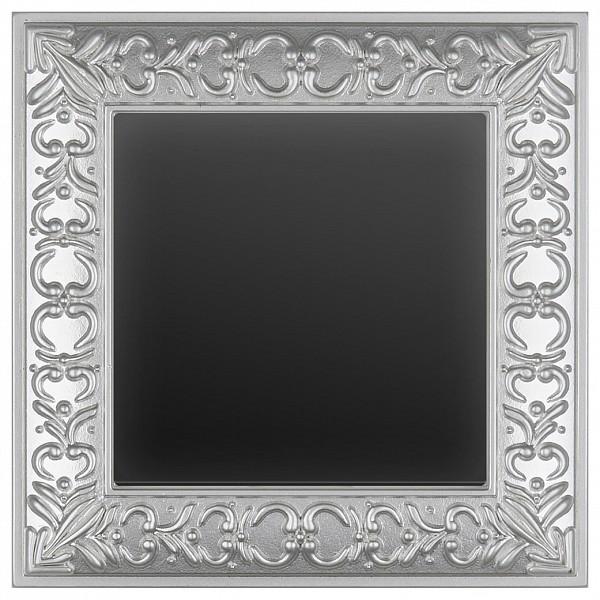 Выключатель проходной одноклавишный Antik (Черный матовый) WL08-SW-1G-2W-LED+WL08-SW-1G-2W фото