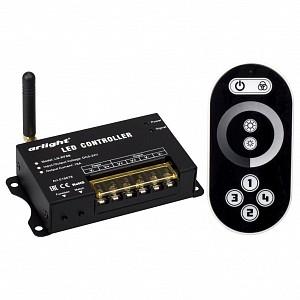 Контроллер-диммер с пультом ДУ LN-RF8B (5-24V,80-384W, ПДУ сенсор 2.4G)