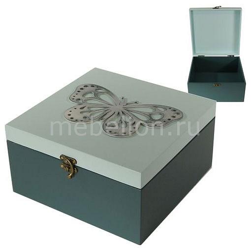 Шкатулка декоративная Акита (24х24х13 см) AKI 1012-2 ключница акита 23х33 см королевские узоры 7358