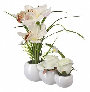 Растение в горшке (28 см) Орхидея и Роза YW-30