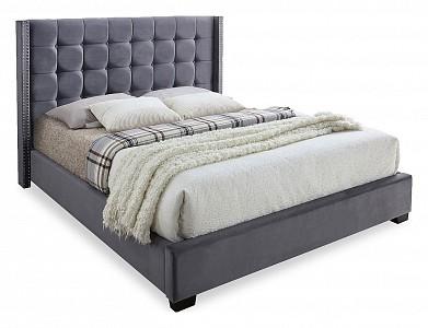 Двуспальная кровать Infi 2868 ESF_INFI2868_180_200_grey