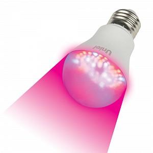 Лампа светодиодная LED-A60 E27 175-250В 9Вт фиолетовый LED-A60-9W/SP/E27/CL ALM01WH картон