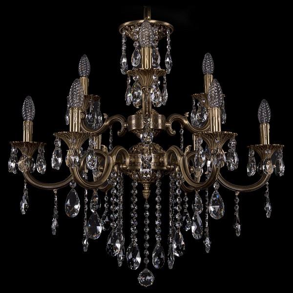 Подвесная люстра 1722/6+3/250+175/B/FP Bohemia Ivele Crystal 1702/6+3/265+181/B/FP  (BI_1702_6_3_265_181_B_FP), Чехия