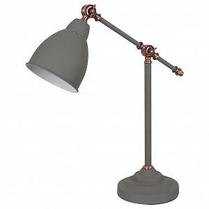 Настольная лампа офисная Braccio A2054LT-1GY