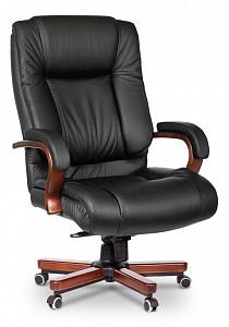 Кресло для руководителя T-9925Walnut/BLACK