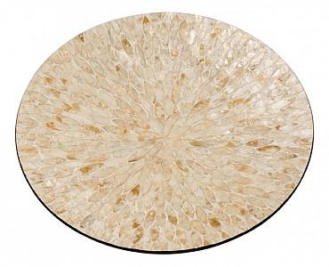 Блюдо декоративное (45х6 см) Золотой песок VP-22
