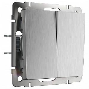 Выключатель двухклавишный без рамки W111 1 W1120009