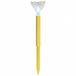 Наземный низкий светильник USL-C-419/PT305 Yellow crocus