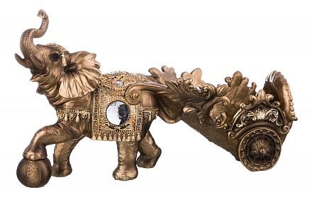 Держатель для бутылок (40x14x24 см) Слон 146-751