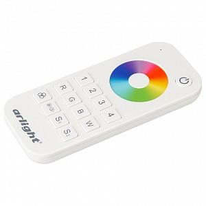 Пульт-регулятора цвета RGBW с сенсорным кольцом SMART-R SMART-R25-RGBW White (4 зоны, 2.4G)