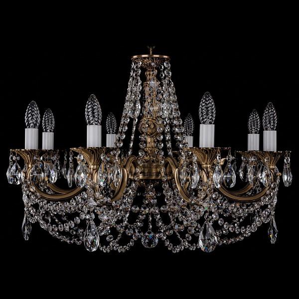 Подвесная люстра 1702/8/250/C/FP Bohemia Ivele Crystal 1702/8/C/FP  (BI_1702_8_C_FP), Чехия