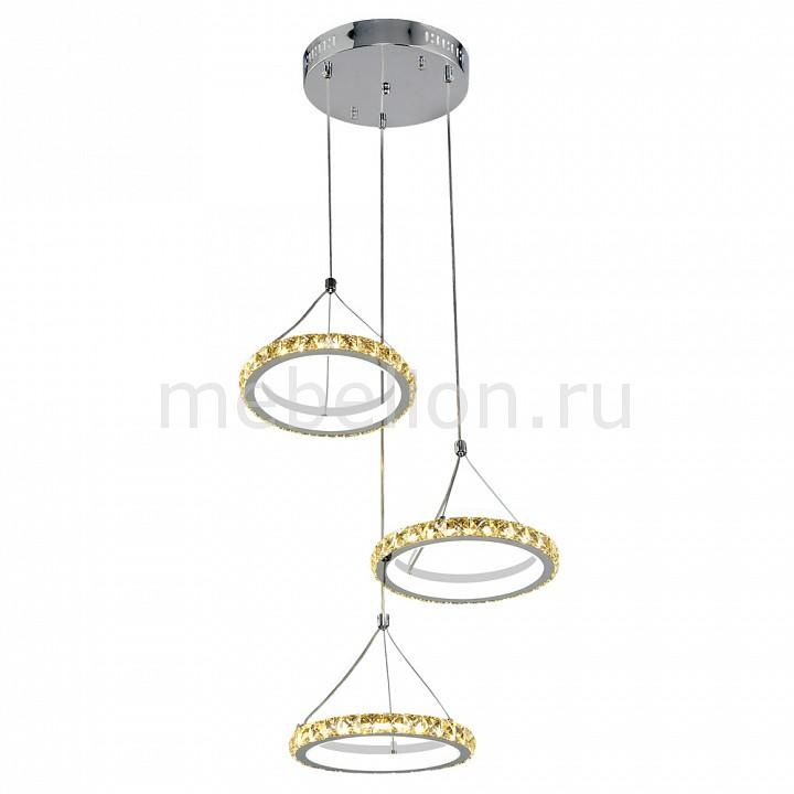 Купить Подвесной светильник 2-1631-3-CR+WH Y LED, Максисвет, Россия