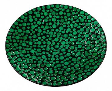 Блюдо декоративное (45х60 см) Малахитовые кольца VP-07