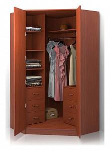 Угловой шкаф для спальни Alisa BRN_518