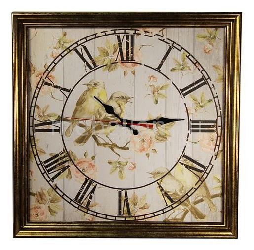 Настенные часы Акита (45х45 см) Птицы 4545 454 diy 3d prcise 4545