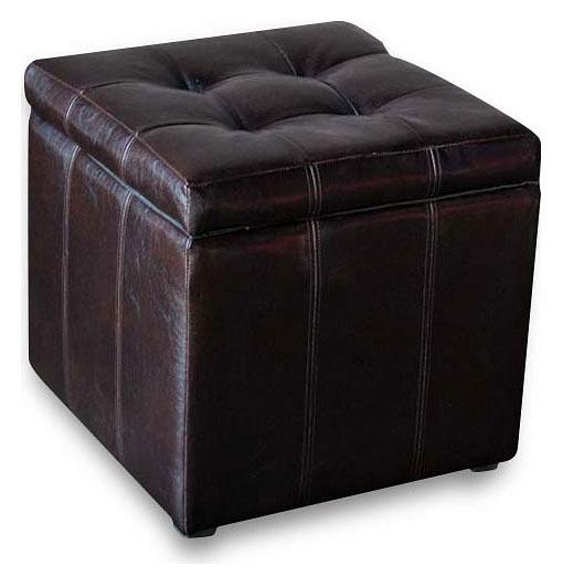 Пуф-сундук Модерна коричневая