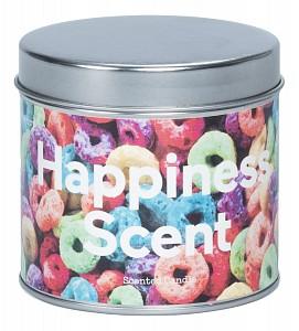 Свеча ароматическая (8.5х8 см) Happiness DYSCECAHA