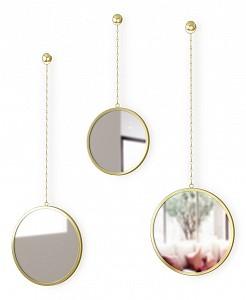 Набор из 3 зеркал настенных (22x63 см) Dima 1013877-104