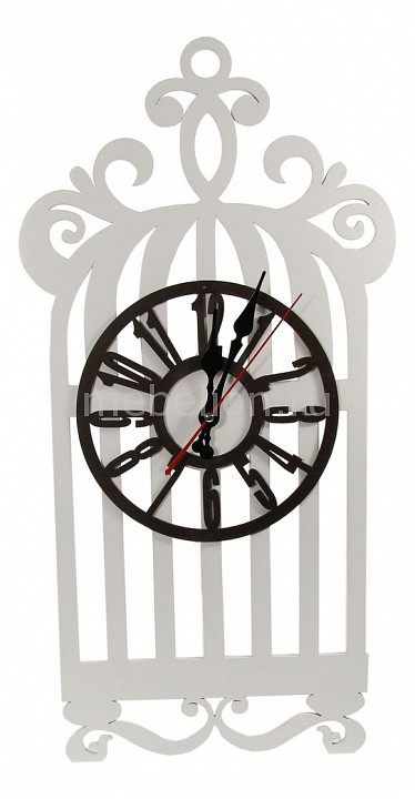 Настенные часы Акита (25х56 см) Клетка N-21 подсвечник декоративный акита 48 см клетка с птичкой 16378