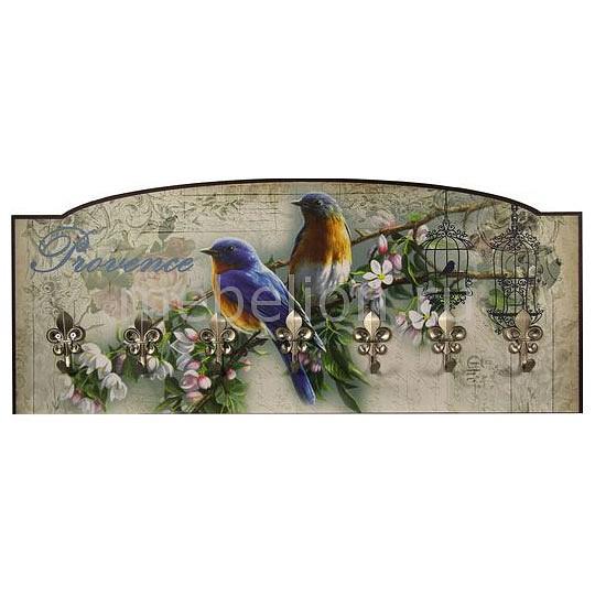 Купить Вешалка Настенная Райские Птички S23