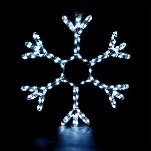 Снежинка световая [56 см] Снежинка 55038
