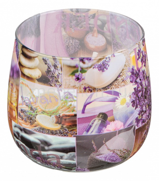 Свеча ароматическая АРТИ-М (6x7 см) Лаванда 348-482 свеча ароматическая арти м 8х7 см закат 348 468