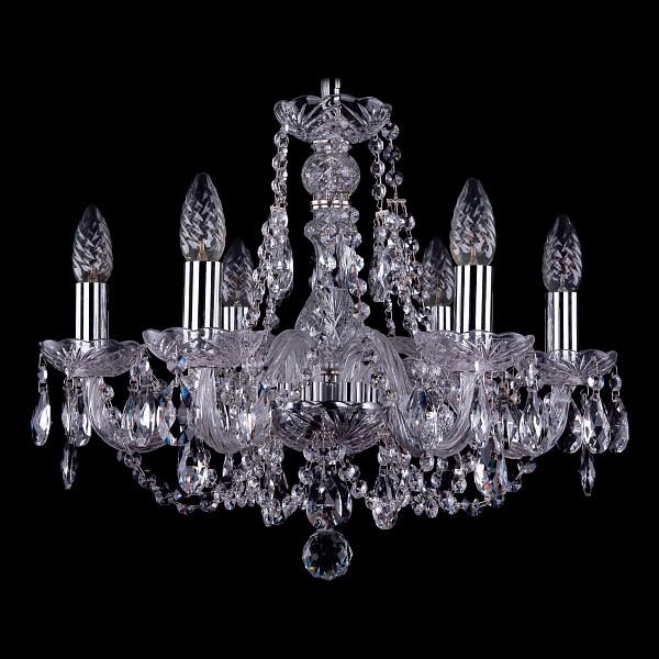 Подвесная люстра 1406/6/160/Ni Bohemia Ivele Crystal  (BI_1406_6_160_Ni), Чехия