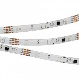 Лента светодиодная [5 м] SPI-5000SE-5060-30 12V Cx3 RGB-Auto (10mm, 6.5W/m, IP65) 022183(1)