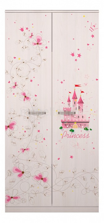 Шкаф платяной Принцесса 1